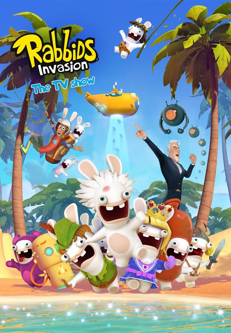 幽默搞怪 《疯狂兔子:入侵》系列动画将登陆更多亚洲市场
