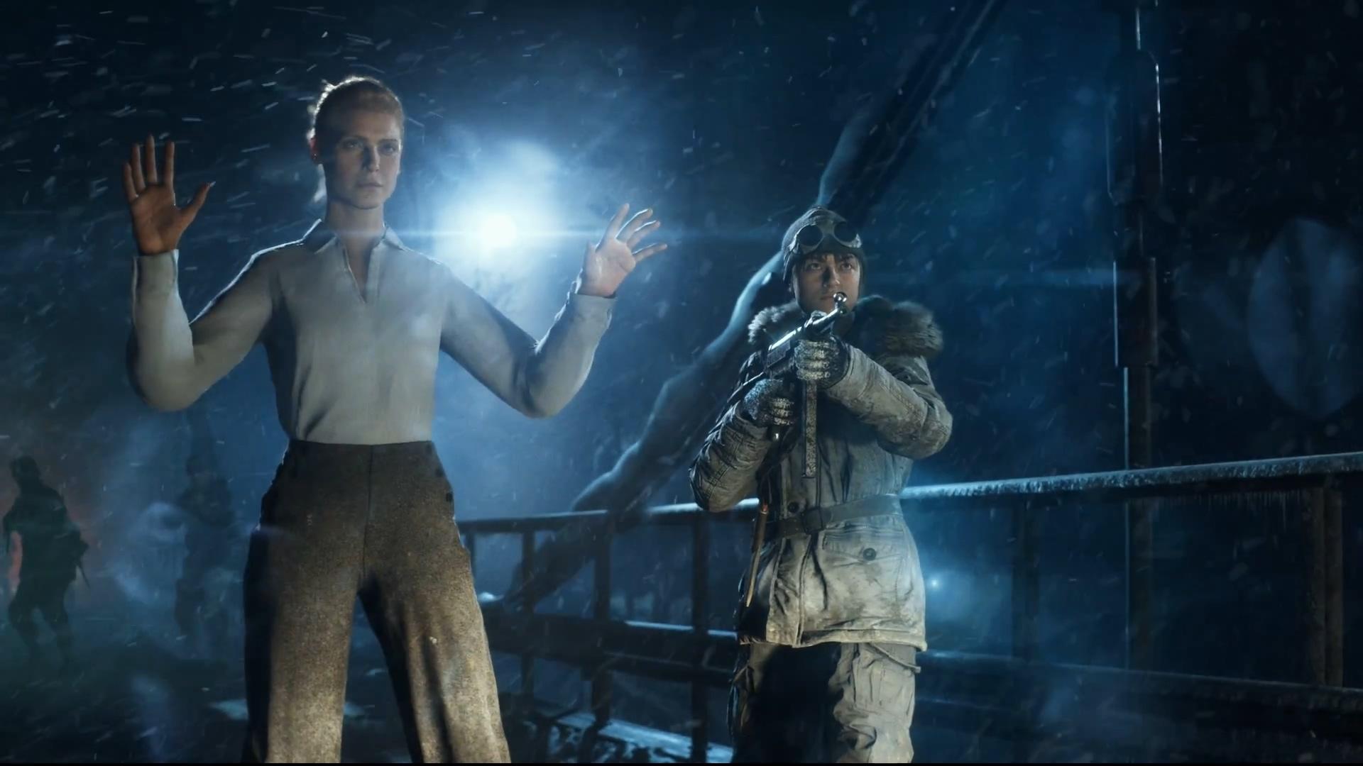 《战地5》单人预告片 体验二战中那些不为人知的小人物故事