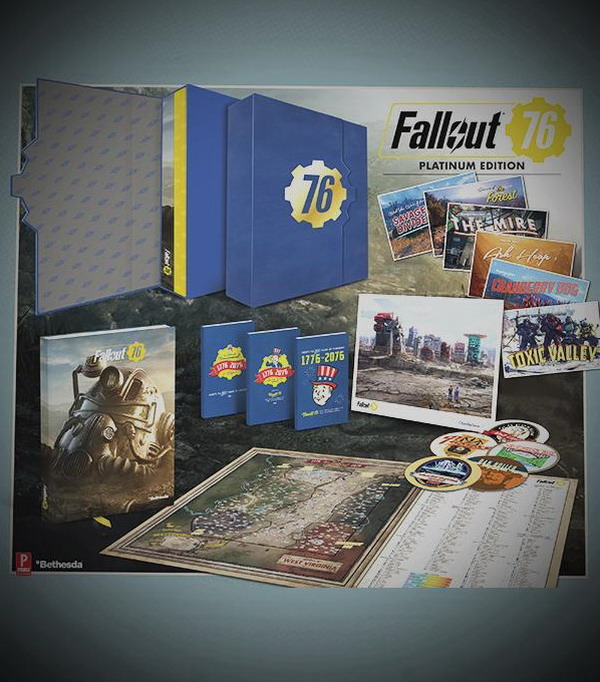 《辐射76》白金收藏版 不带游戏本体115美元