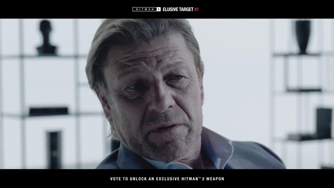 《杀手2》首个难寻目标公布 英国影星肖恩宾饰演