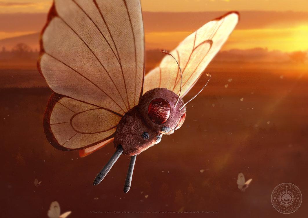 国外画家绘制写实风《精灵宝可梦》 画面过于逼真