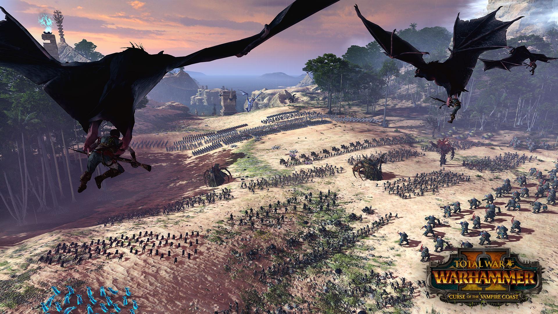 吸血鬼大軍來襲 《全面戰爭:戰錘2》新免費DLC公布