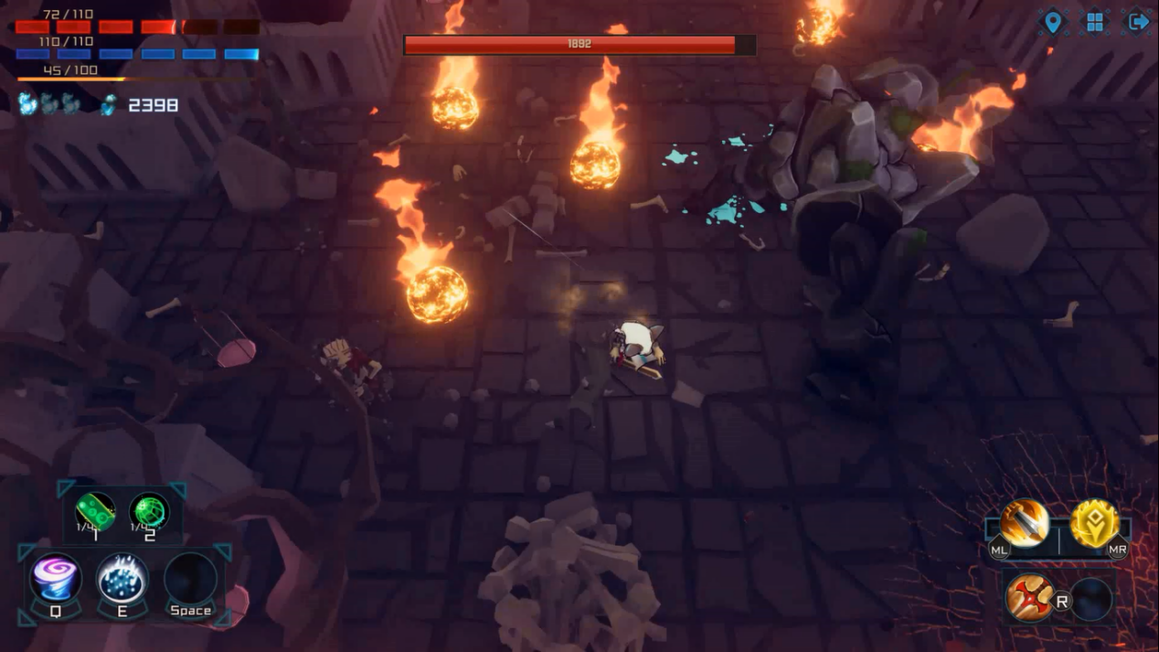 历时一年开发Roguelike游戏:《异界遗迹》已于今日正式发售抢先体验版本