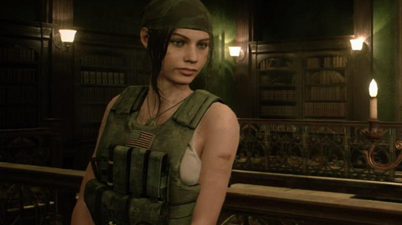 造型御姐 《生化危机2:重制版》克莱尔军人服装展示