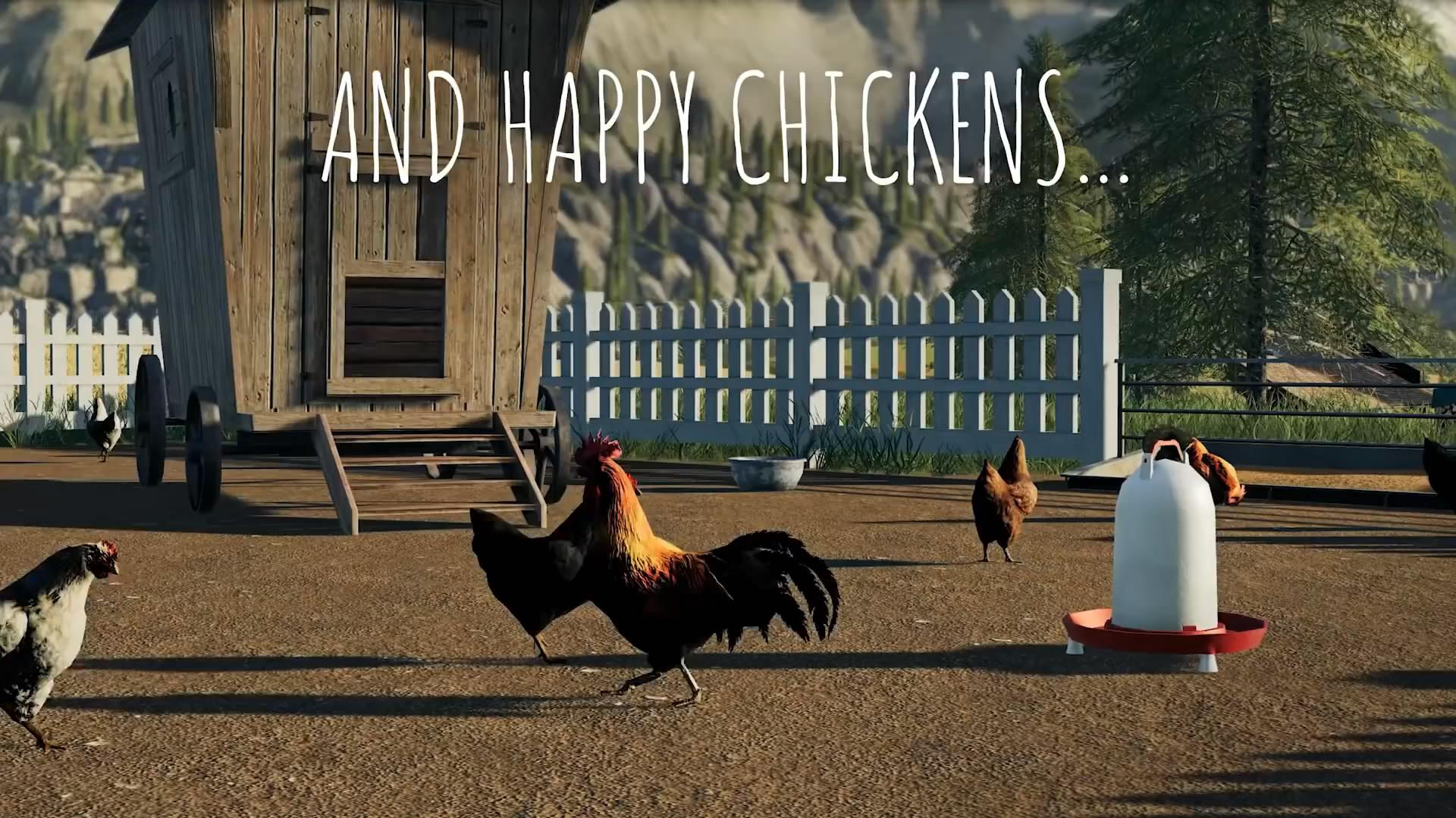 《模拟农场19》全新实机演示 玩家驯养家畜骑马畅游