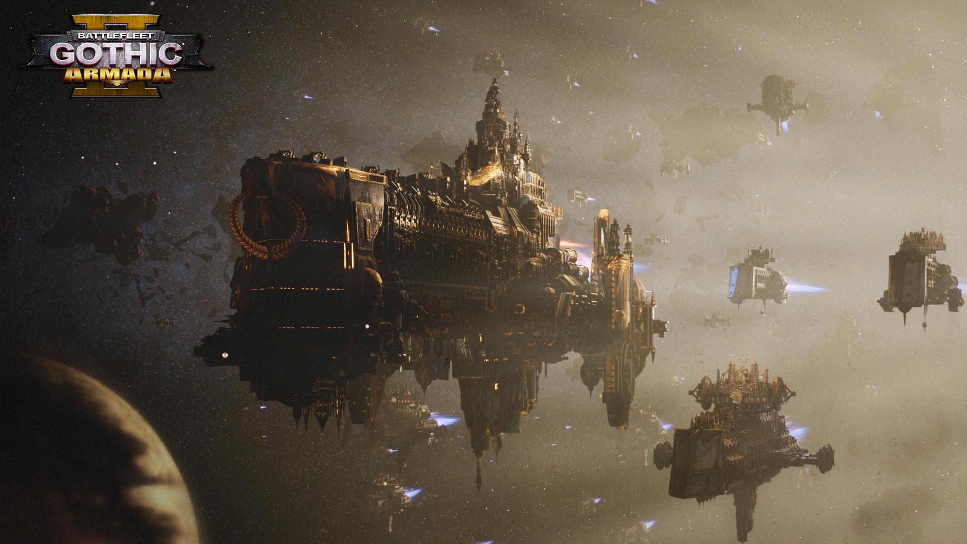 《哥特舰队:阿玛达2》 新情报 战斗比一代更庞大激烈