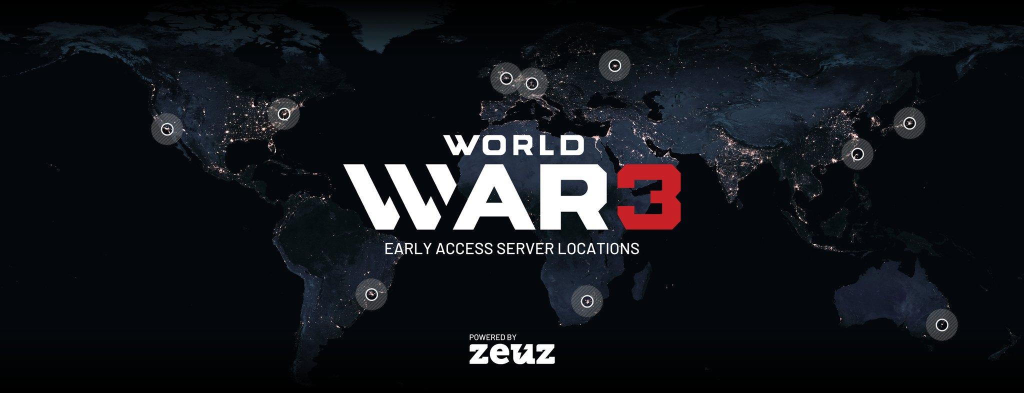 《第三次世界大戰》將有亞服 明日搶先體驗流暢廝殺
