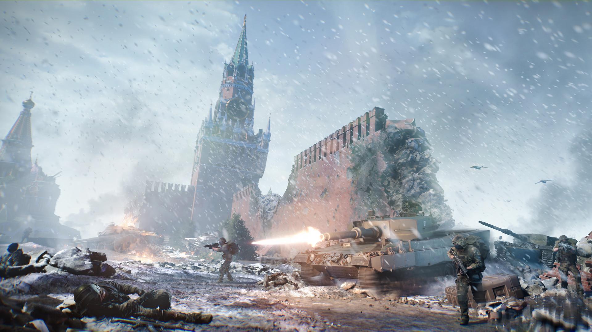 《第三次世界大战》将有亚服 明日抢先体验流畅厮杀