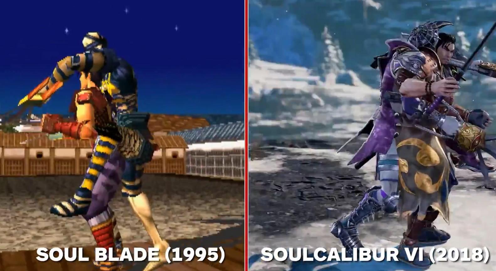 23年改变的是画面 不变的是魂之味道《灵魂能力6》与初代对比