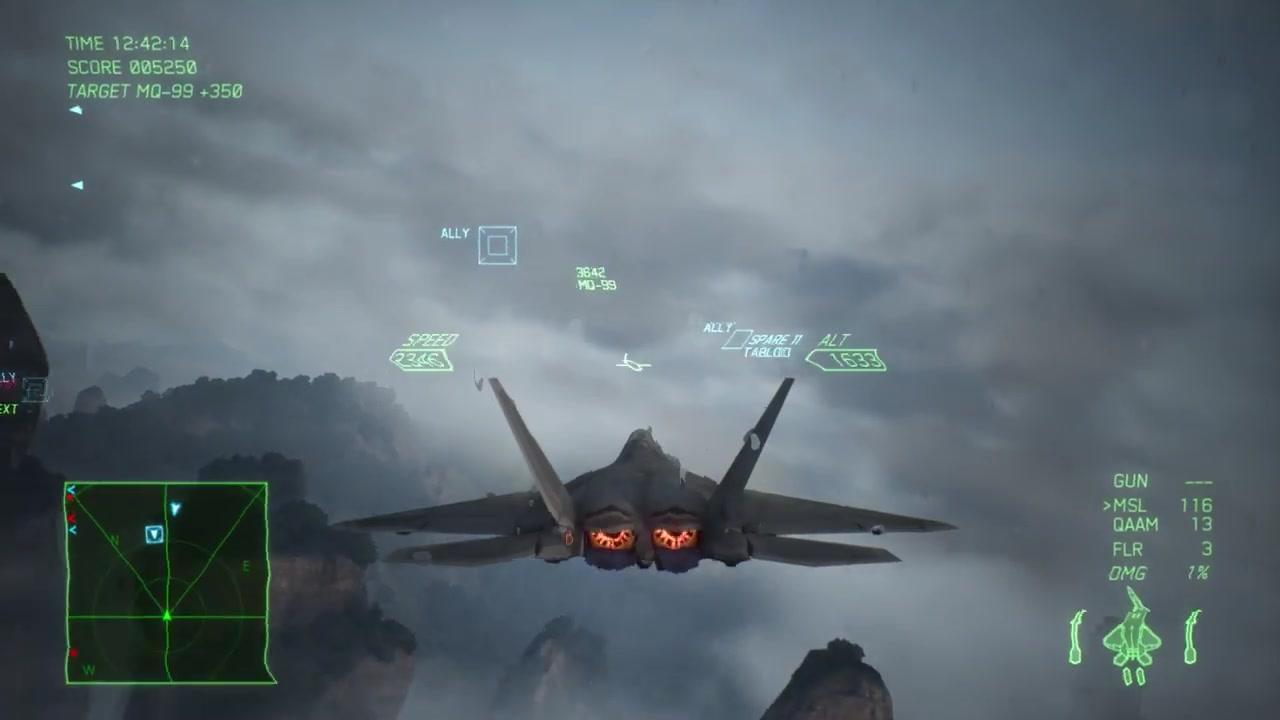 《皇牌空战7》20分钟全新实机视频让你一次看个过瘾