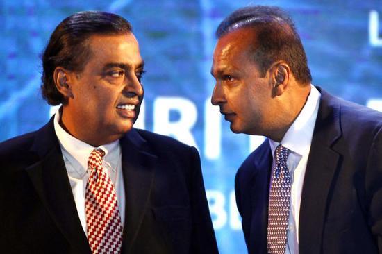 印度首富身家超马云300多亿 在本国打4G价格战