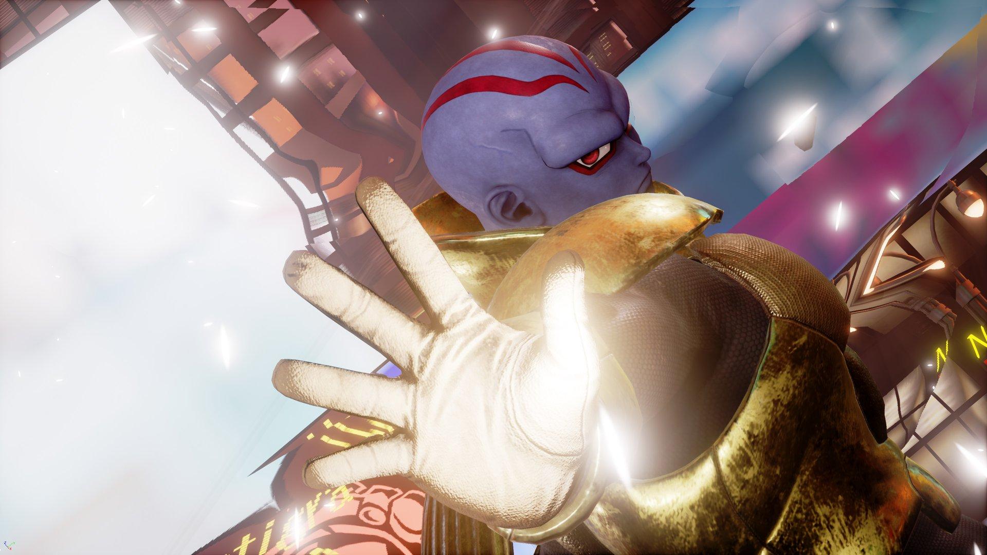 《Jump大乱斗》截图:鸟山明设计原创反派角色基恩