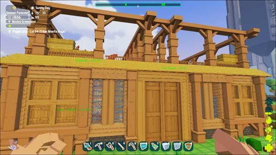 肝再大不如脑洞大,他和孩子们成了《方块方舟》的灵魂建筑师