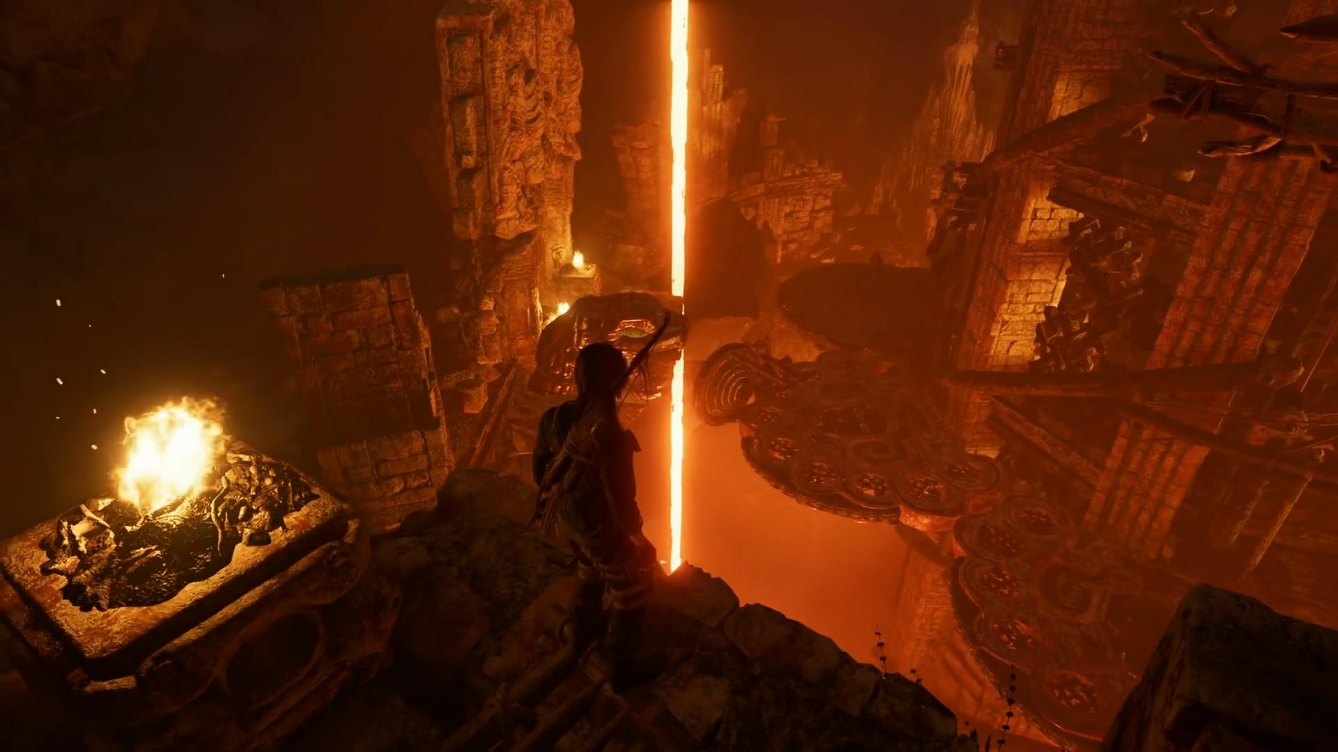 """上刀山下火海 《古墓丽影:暗影》全新DLC""""熔炉""""视频"""