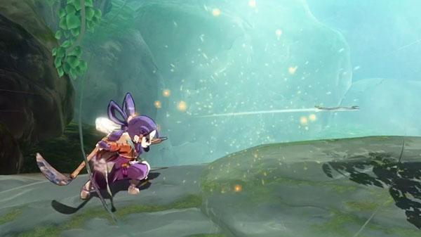 《天穗的长命草姬》 新视频展示主角反弹远程武器