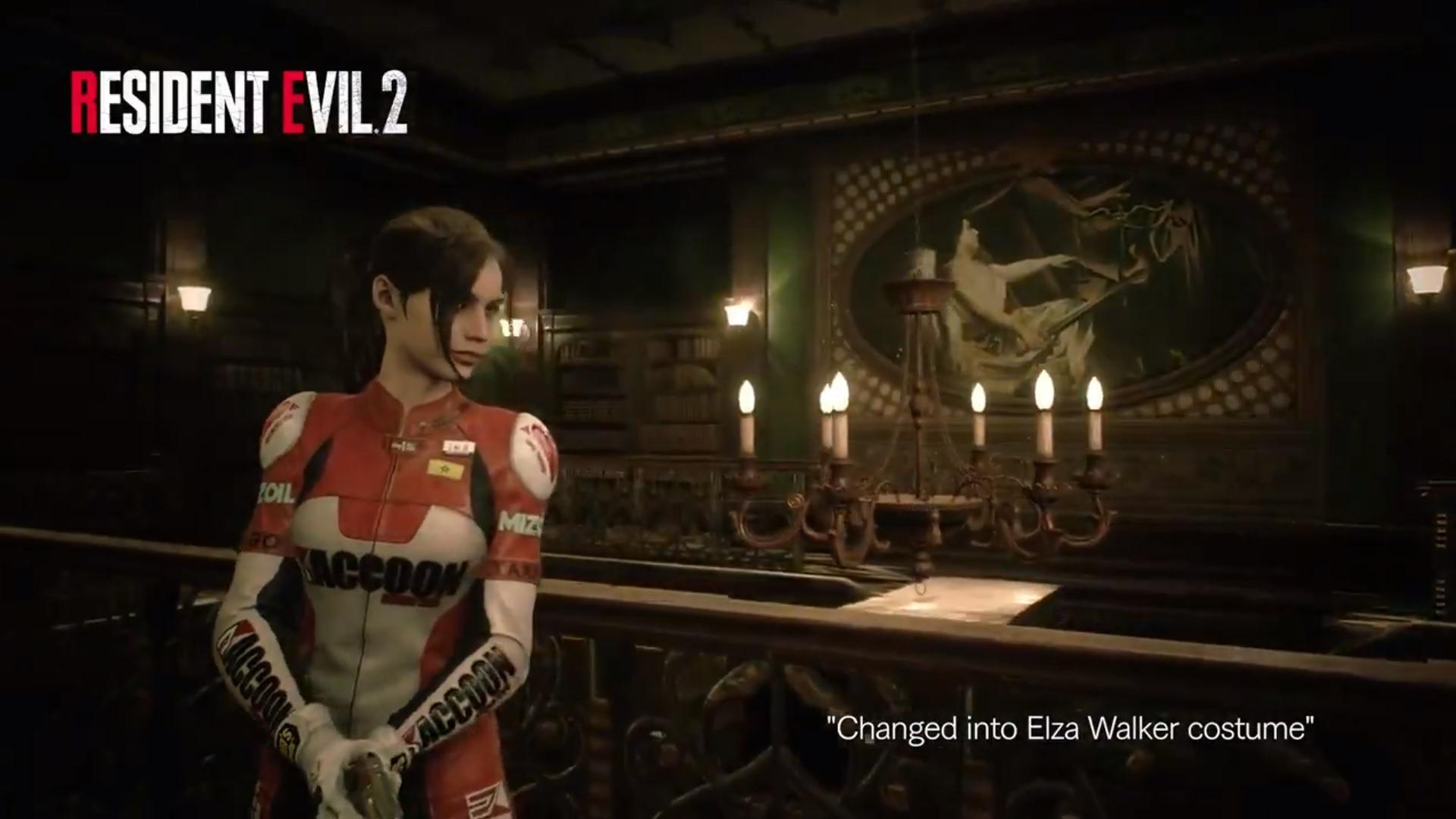 《生化危机2:重制版》克莱尔Elza Walker服装展示