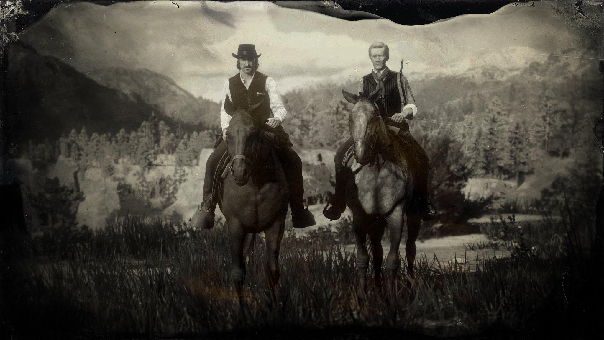 《荒野大镖客2》怀旧风格新截图曝光 澳门皇冠官网主角身世公开