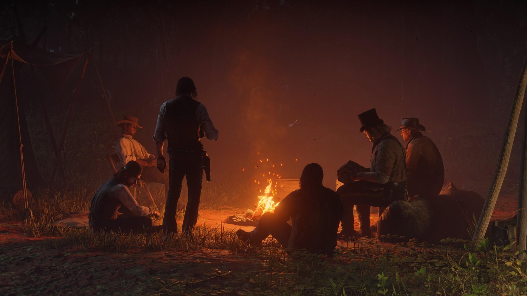 《荒野大镖客2》首日补丁容量曝光 各地游戏解锁时间公开