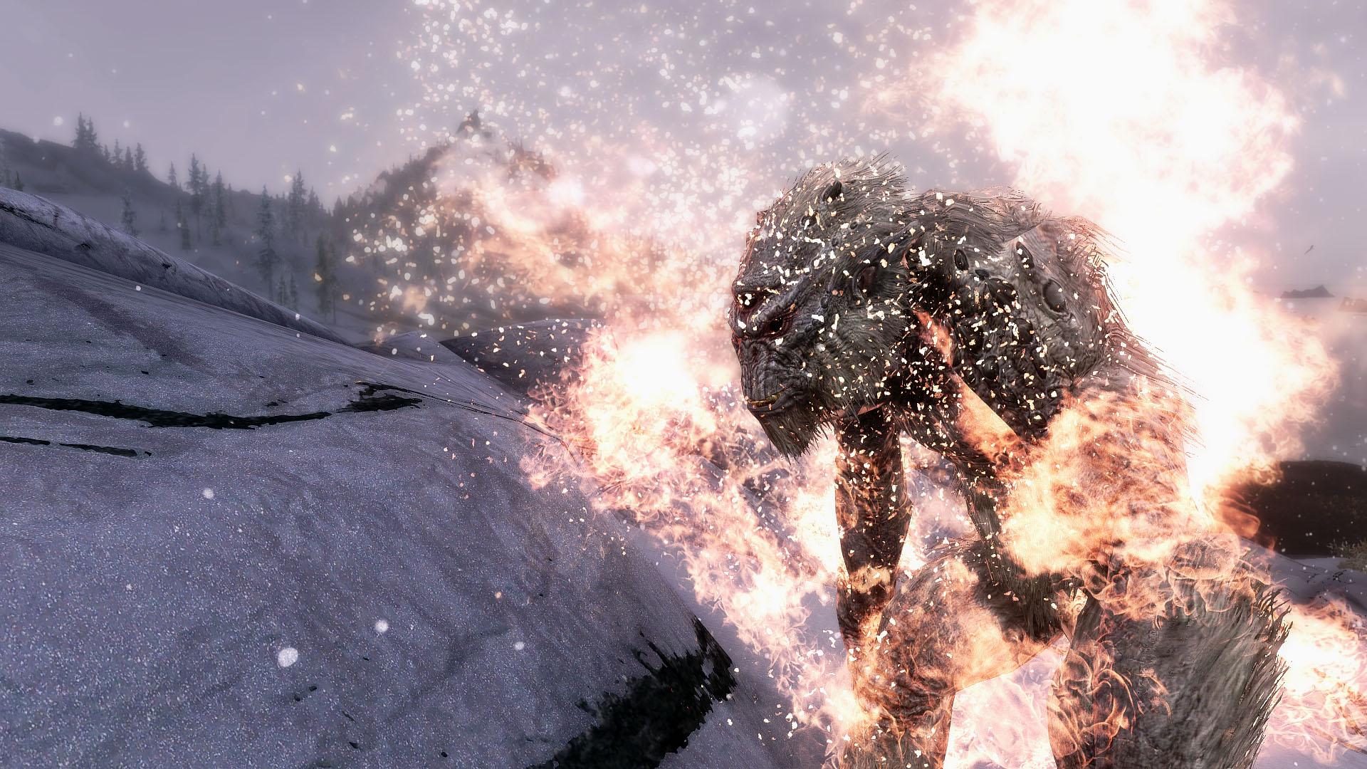 《上古卷轴5》超强火焰效果MOD-迷你酷-MINICOLL