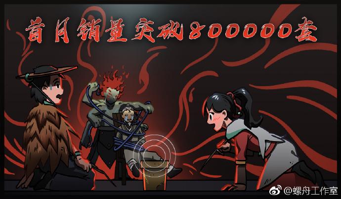 《太吾绘卷》官方宣布月销量突破80万:再次感谢玩家