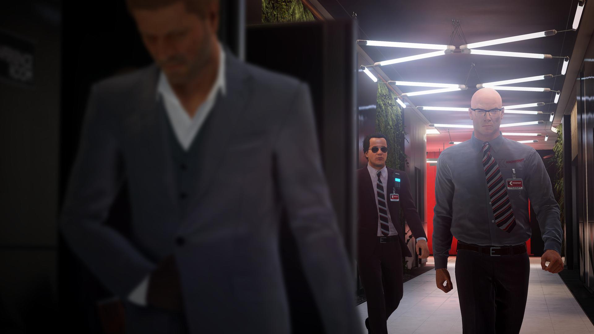 《杀手2》新截图 首次展示肖恩宾饰演的角色