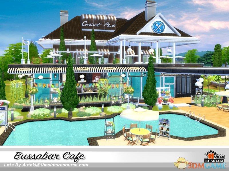 模拟人生4 双层现代咖啡馆MOD
