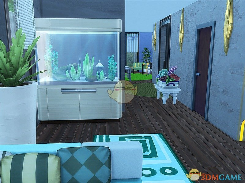 模拟人生4 时尚隐居住宅MOD