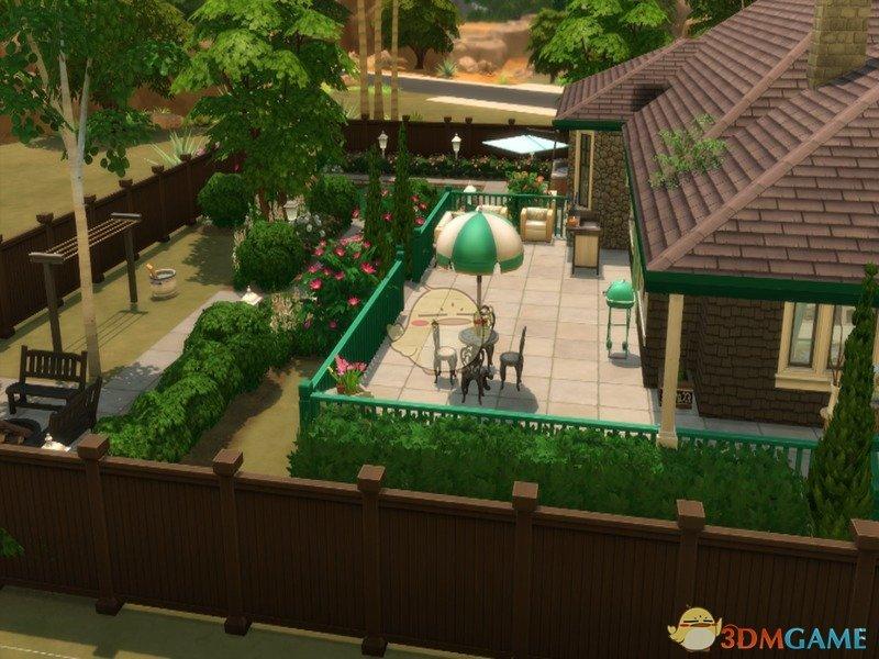 《模拟人生4》乡村简约豪华别墅MOD