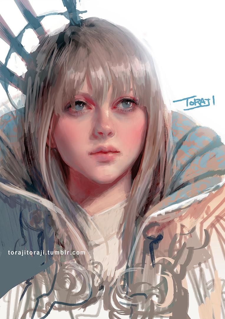 日本女畫師精彩概念圖畫風唯美 性感美人魚旗袍妹等登場