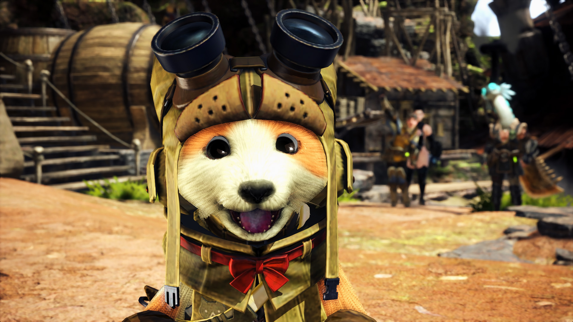 愛狗人士必備 《魔物獵人:世界》艾露貓變萌狗MOD