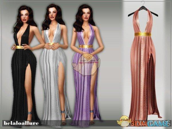 模拟人生4 女性优雅性感礼服MOD