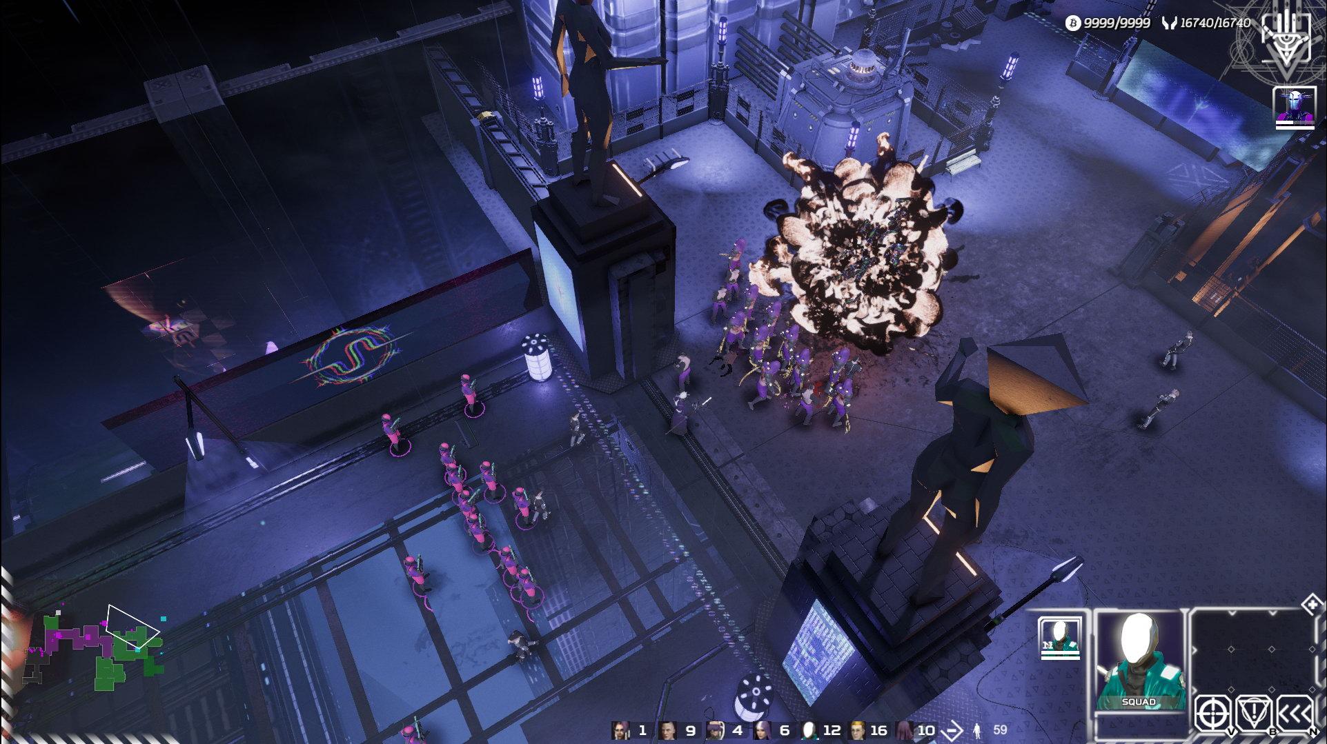 RTS新作《重整旗鼓》预告及截图 赛博朋克黑暗风格