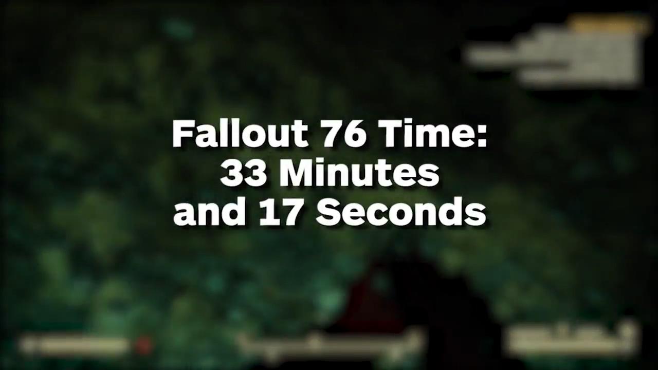 《輻射4》 vs 《輻射76》 :徒步穿越世界誰更久?