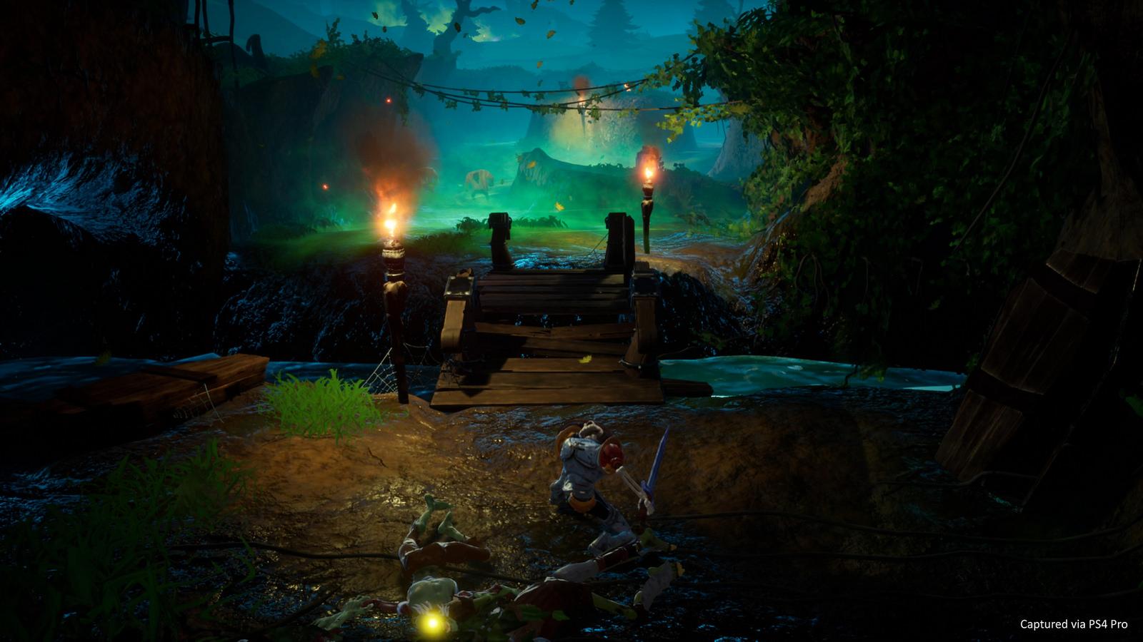 PS经典动作游戏《骷髅骑士》完全重制明年登陆PS4