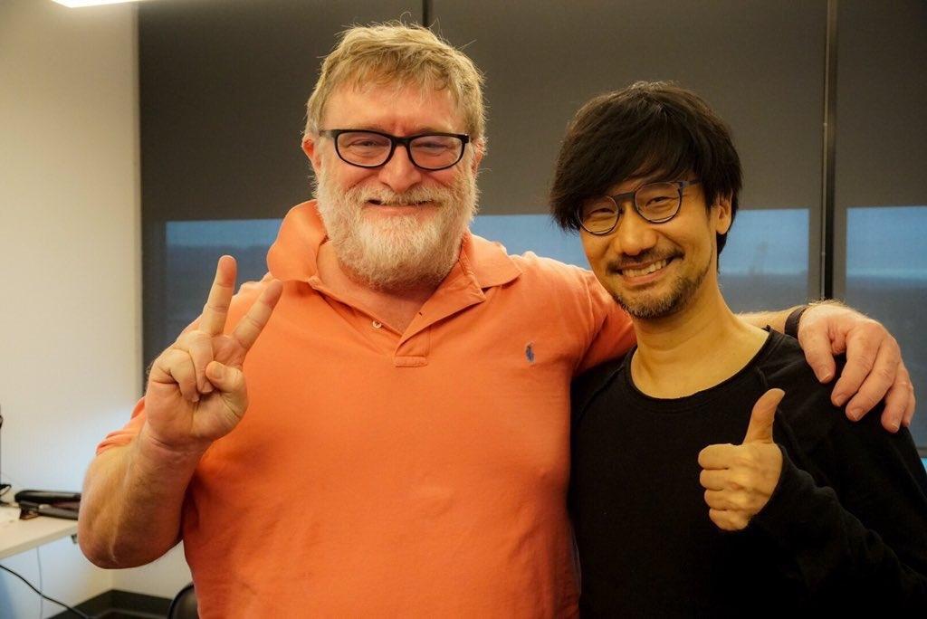 游戏制作人小岛秀夫帮G胖数三 《半条命3》就靠小岛提携了