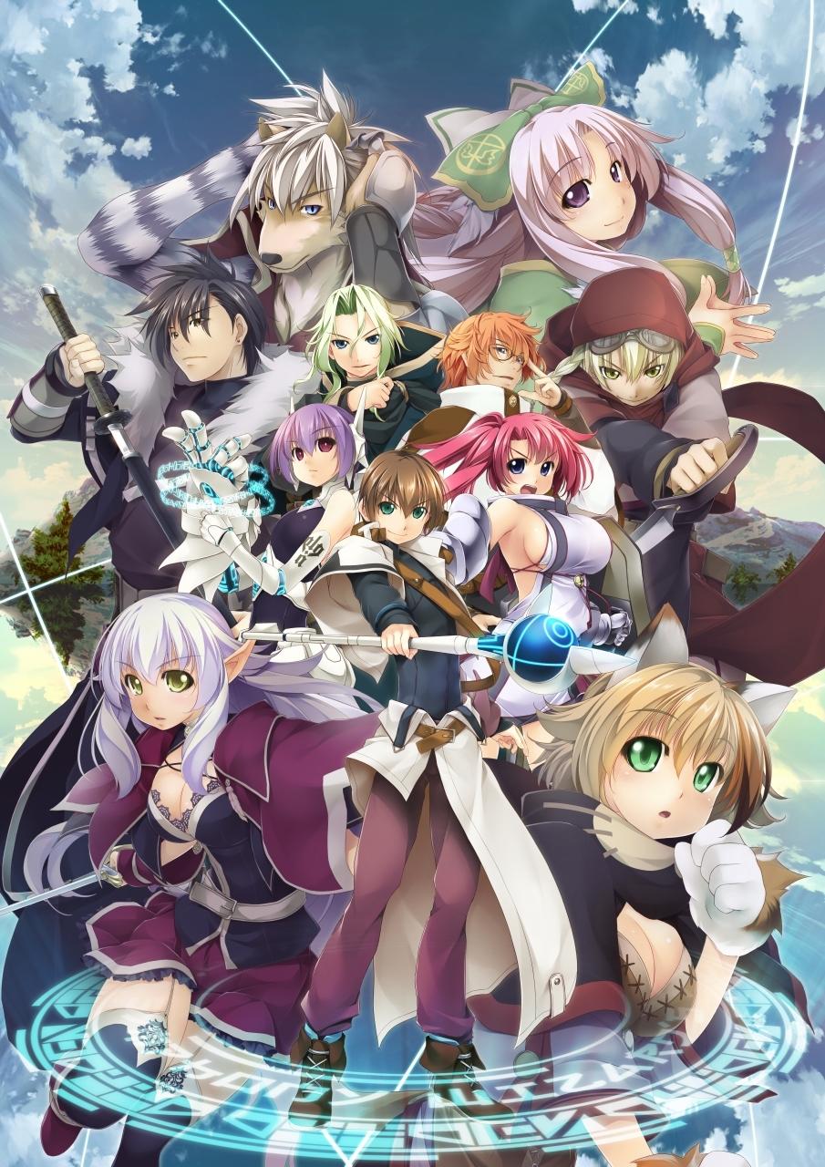 劍與魔法SLG名作最新篇《巫師交響樂》19年2.28日發售
