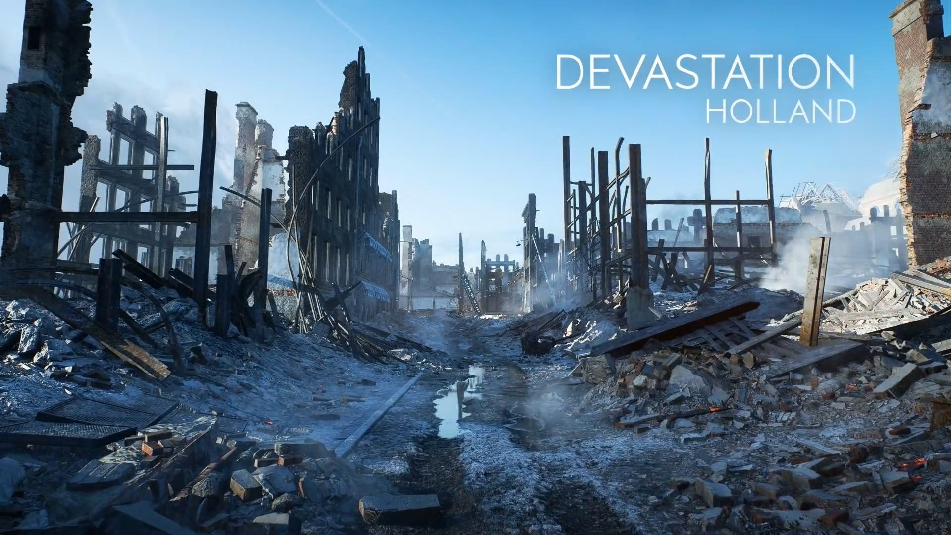 《战地5》 新预告片 8张首发地图逐一展示
