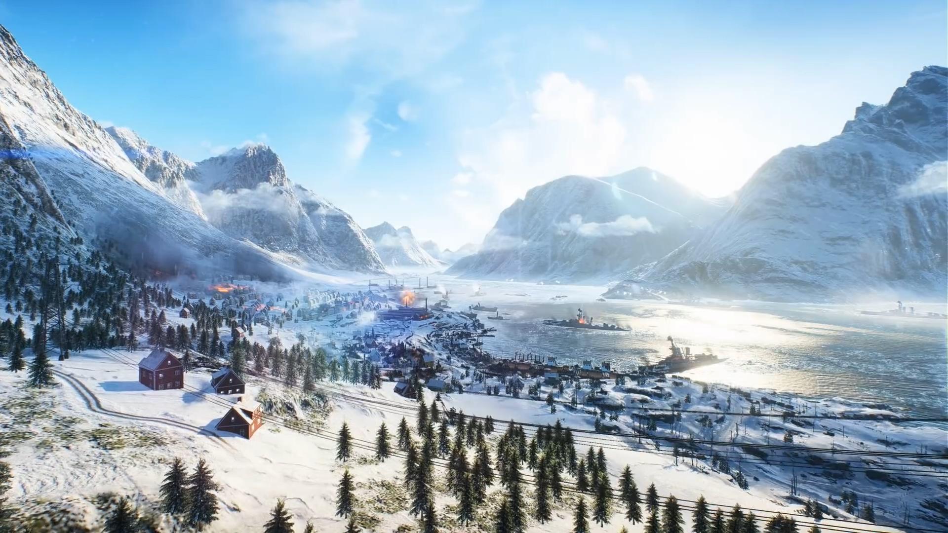 《战地5》新预告片 8张首发地图逐一展示