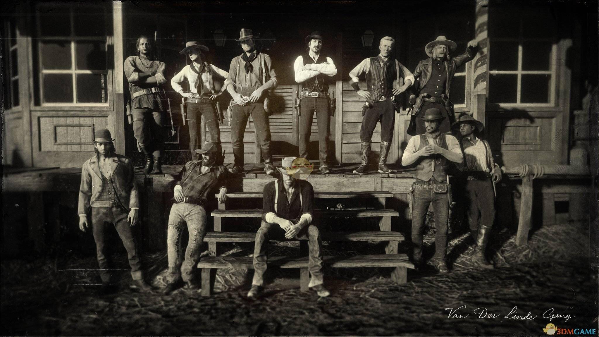《荒野大镖客2》范德林帮派成员下场一览
