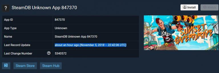 《日落过载》现身Steam数据库 似乎还会登陆Steam