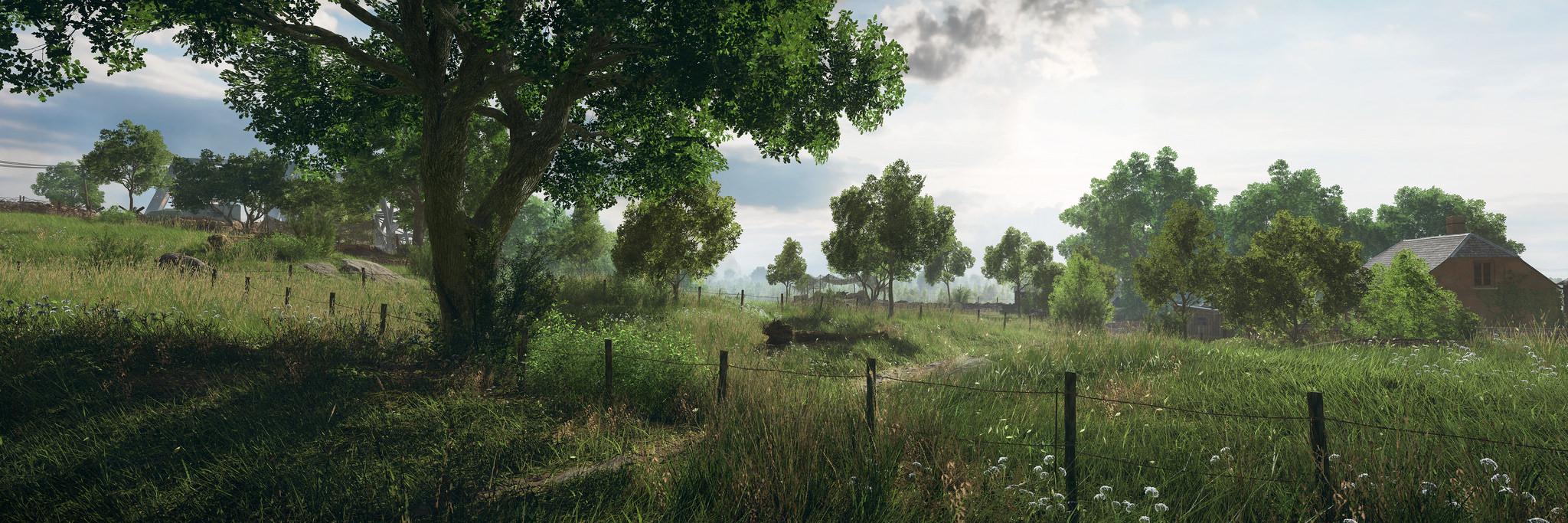 DICE來送桌佈瞭!《戰地風雲5》驚艷藝術圖和新截圖發佈