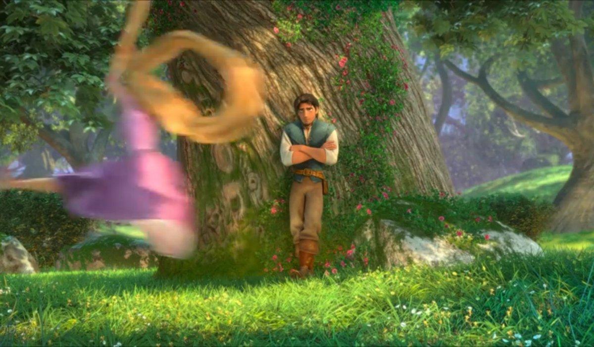 《王國之心3》畫面對比動畫《長發公主》 場景神還原