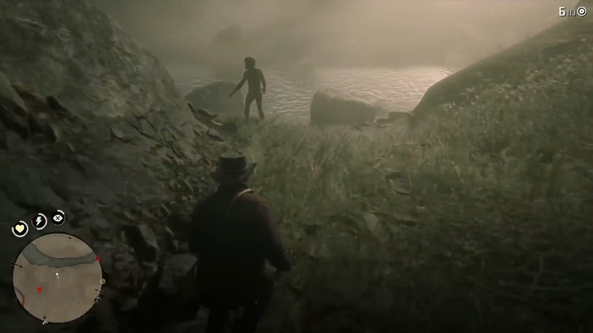 这细节不得不服!玩家发现《荒野大镖客2》隐藏狼人