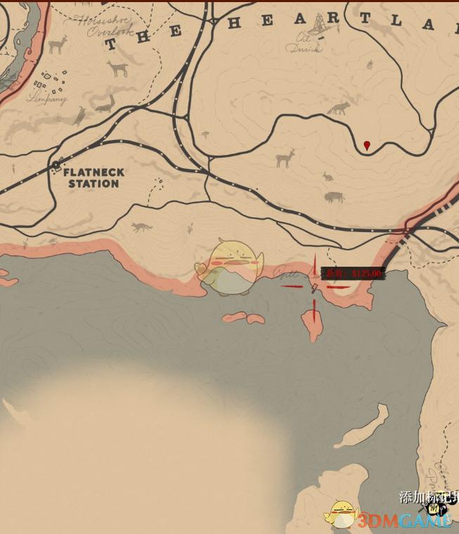 《荒野大镖客2》全传奇鱼垂钓攻略