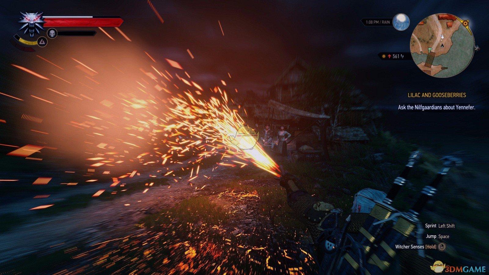 《巫师3:狂猎》粒子效果优化MOD