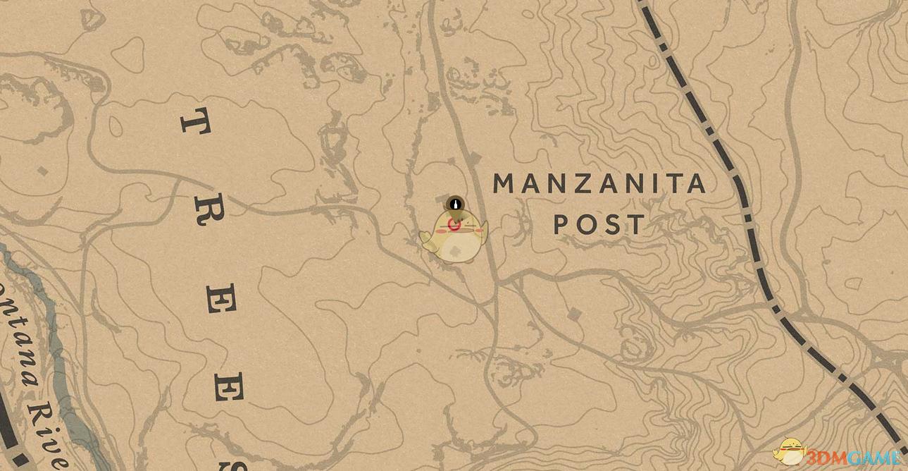 《荒野大镖客2》全人参灵药位置分享