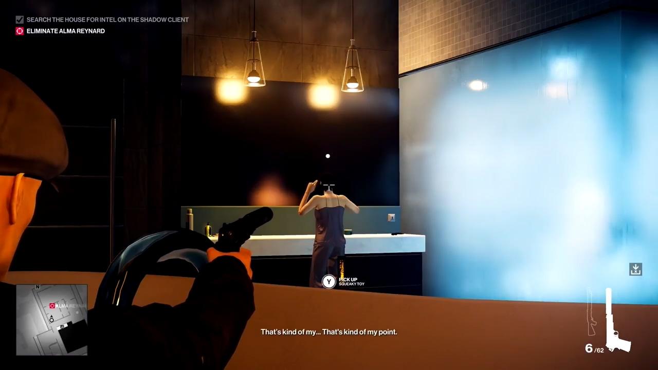 《杀手2》头17分钟演示 专业难度展示第一个任务