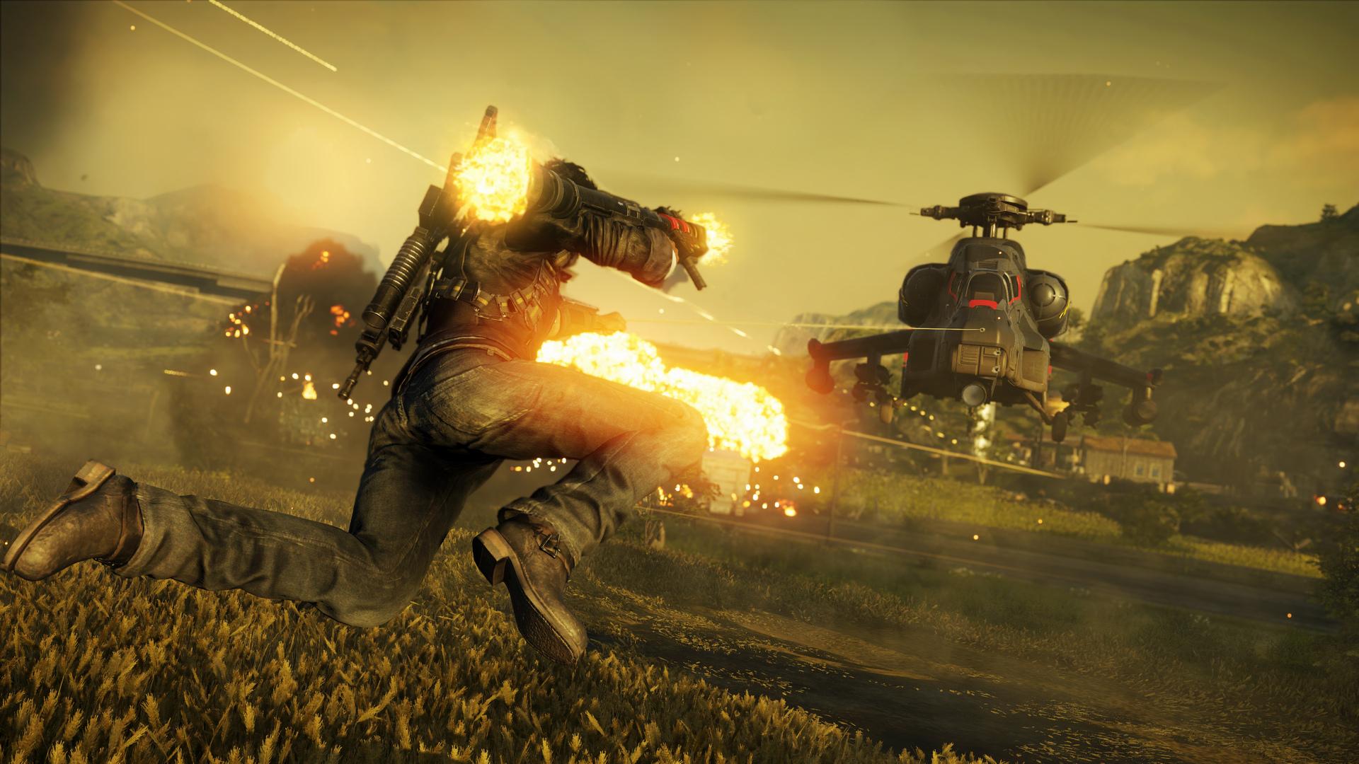 《正当防卫4》火爆新截图放出 萌哒哒的羊驼抢镜