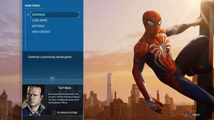 大恶人锤头将于11月20日入侵PS4《漫威蜘蛛侠》