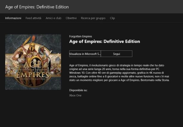 一代神作归来!《帝国时代:终极版》或登XboxOne